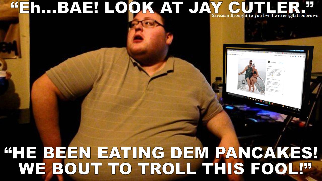 Jay Cutler Body Shamer